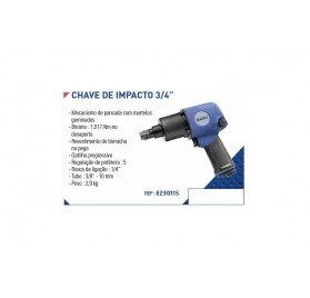 "Chave Impacto 3/4 "" Expert"
