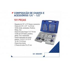 """Composição de Chaves 1/4 """" - 1/2 """""""