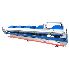 Viradeira hidráulica CNC, serie EB