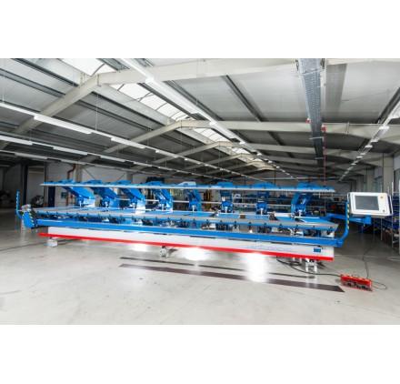 Viradeira hidráulica CNC, dupla, serie DB