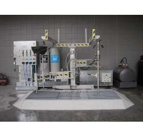 Sistema de descontaminação de Veículos em Fim de Vida (VFV)