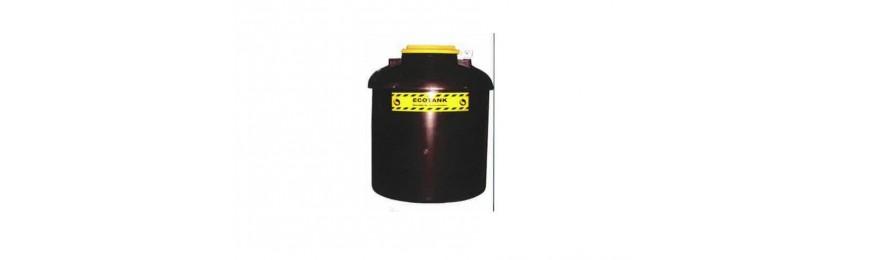 Depósitos para óleo usado