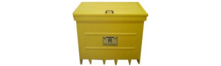 Contentores Baterias/ Resíduos Perigosos